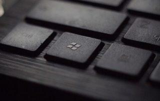 microsoft icon on keyboard