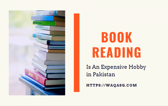 Book Reading is an expensive hobby