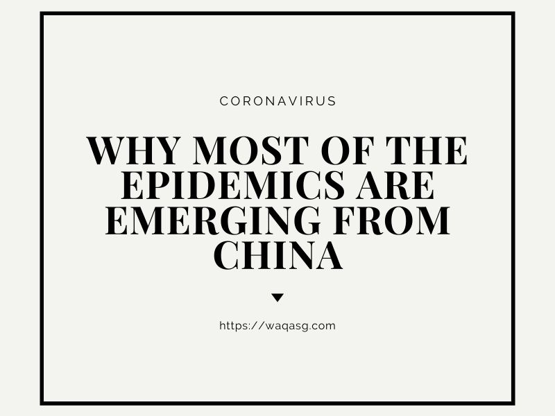 Why most of the Epidemics are emerging from China