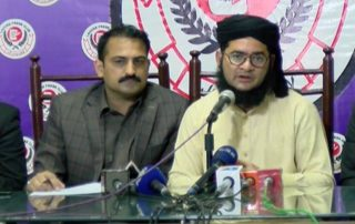 Nasir Madni Addresses a press conference