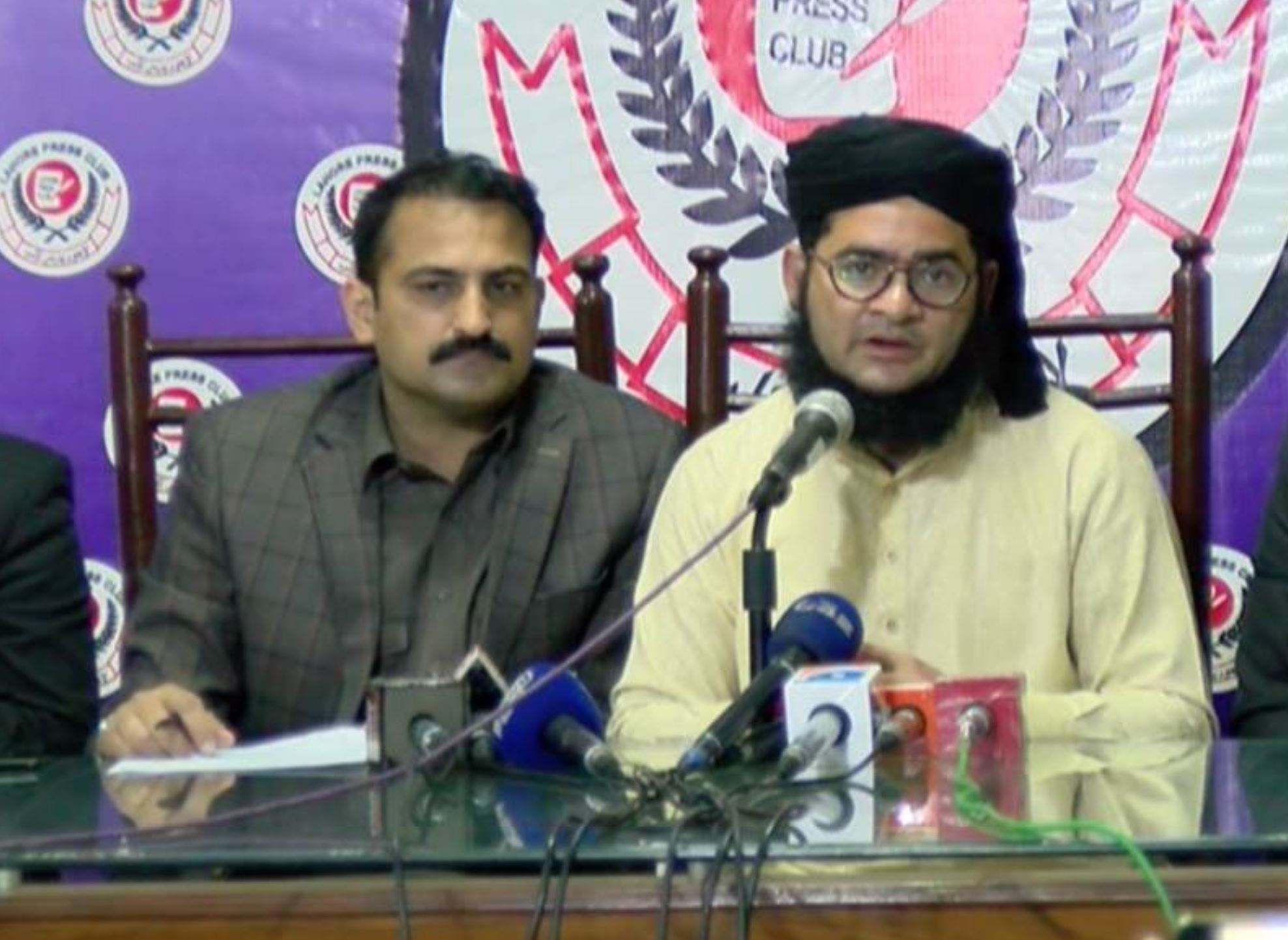 Nasir Madni Addresses a press conference