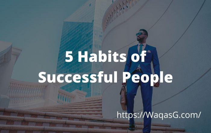 5 Habits of Successful People art